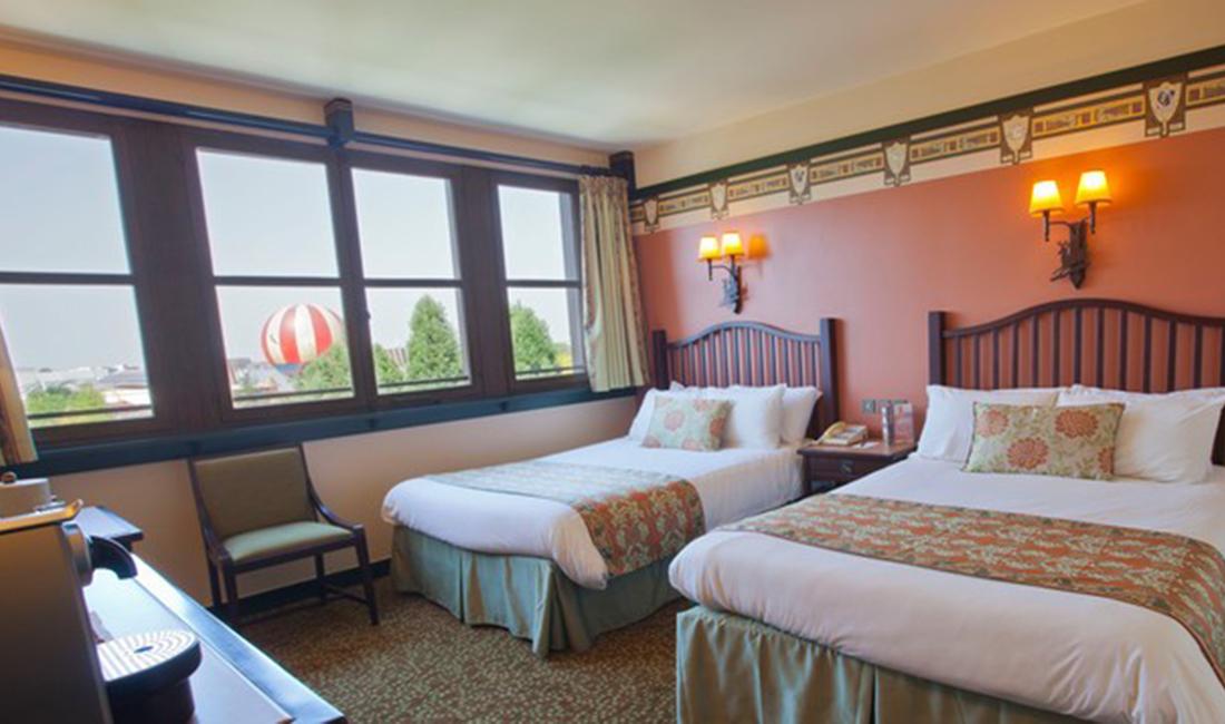 """SYMPATHY OF EURO PARKS"" in Disneyland * Hotel Disney Sequoia Lodge, France"