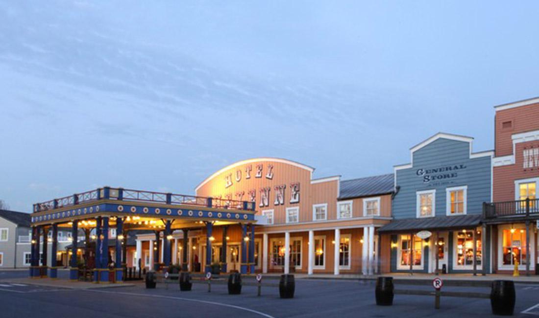 """SYMPATHY OF EURO PARKS"" in Disneyland Hotel Cheyenne, France"